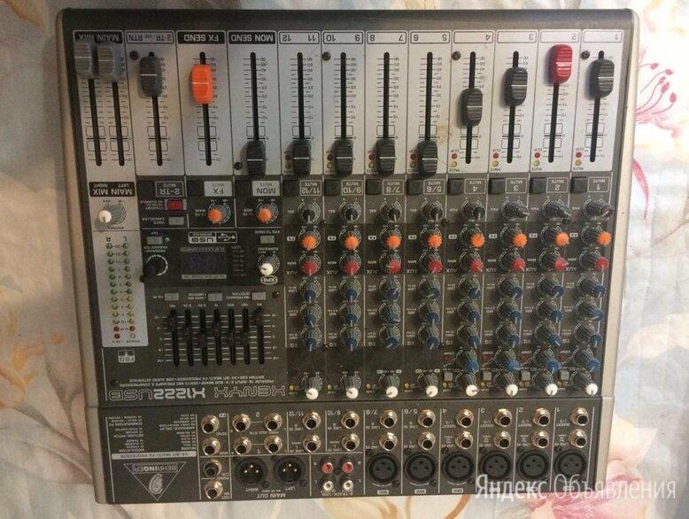 Микшер BEHRINGER XENYX X1222USB по цене 10500₽ - Микшерные пульты, фото 0