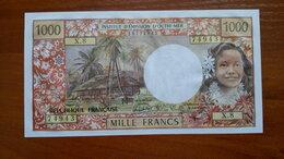 Банкноты - Остров ТАИТИ  1000 франков 1985 г. PAPEETE, 0