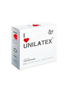 Презервативы - Презервативы Unilatex Natural Ultrathin  №3 …, 0