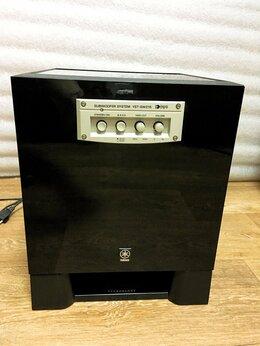 Акустические системы - Активный сабвуфер Yamaha 150W черный глянец, 0