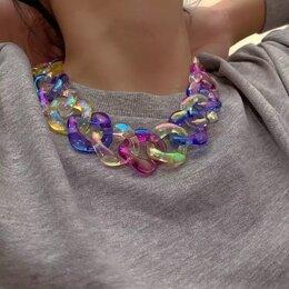 Колье - Ожерелье перламутровое крупное, 0