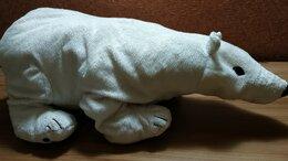 Мягкие игрушки - Игрушка Белый медведь из IKEA (Швеция). Длина 60…, 0