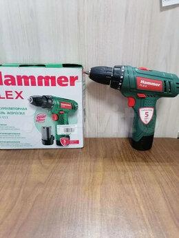 Дрели и строительные миксеры - Аккумуляторная дрель Hammer ACD12/2 LE б/у, 0