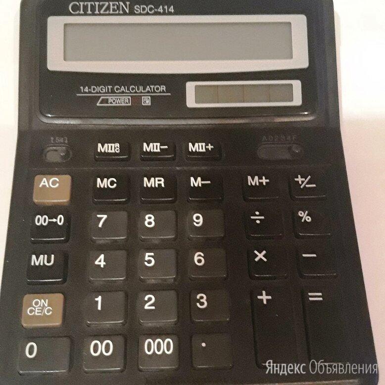 Калькулятор CITIZEN   SDC-414 (Япония) по цене 800₽ - Калькуляторы, фото 0