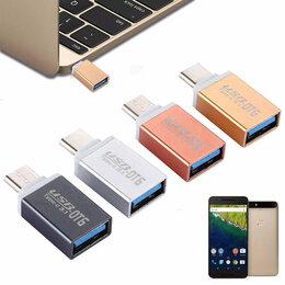 Компьютерные кабели, разъемы, переходники - Переходник type c USB 3.1 OTG (MacBook), 0