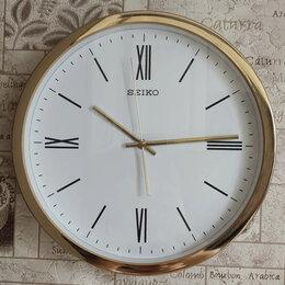 Часы настенные - Настенные часы Seiko QXA676G, 0