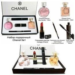 Наборы - Подарочный наборы Шанель 5в1, 0