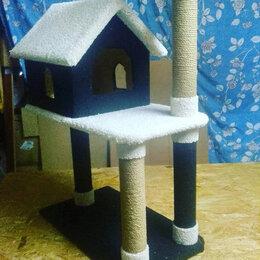 Когтеточки и комплексы  - Дом для кошки игровая зона хобби, 0