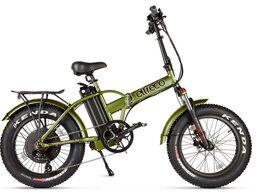 Мототехника и электровелосипеды - Электровелосипед Eltreco Multiwatt New (Хаки-2330), 0