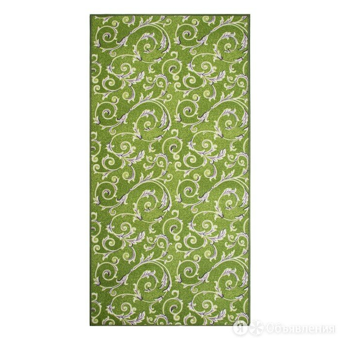 НЕВА-ТАФТ Палас МАРЛЕН размер 250х400 см, цвет зеленый 60/25 войлок 195 г/м2 по цене 5755₽ - Ковры и ковровые дорожки, фото 0