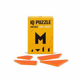 Головоломки - Головоломка IQ PUZZLE буква М, 0