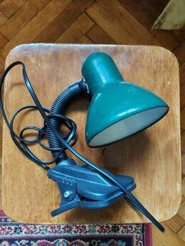 Настольные лампы и светильники - Лампа подвесная (на прищепке), 0