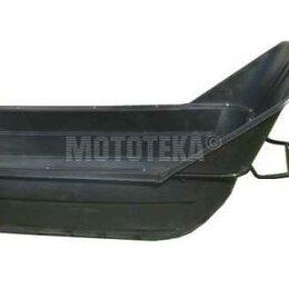 Мототехника и электровелосипеды - Сани волокуши №11 LUX 2200 с отбойником (2370*1030*700), 0