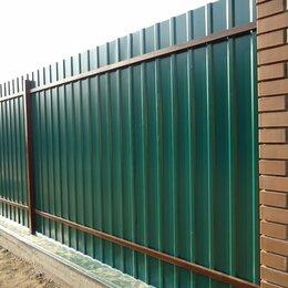 Заборы, ворота и элементы - Заборы из профлиста, 0