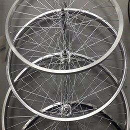 """Обода и велосипедные колёса в сборе - Вело колесо в сборе 24"""" переднее и заднее Новое, 0"""