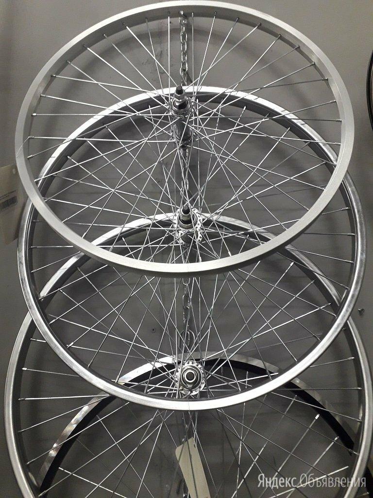 """Вело колесо в сборе 24"""" переднее и заднее Новое по цене 1590₽ - Обода и велосипедные колёса в сборе, фото 0"""