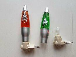 Ночники и декоративные светильники - Ночник лава лампа зеленый оранжевый с блестками, 0