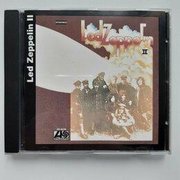 Музыкальные CD и аудиокассеты - CD LED ZEPPELIN 1969/1994 LED ZEPPELIN II серия BiG RUSSIA NM/NM 4 bonus tracks, 0