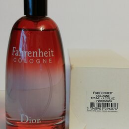 Парфюмерия - Fahrenheit Cologne by Christian Dior 125 ml  ТЕСТЕР ОРИГИНАЛ, 0