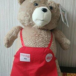 Мягкие игрушки - Игрушка Медведь TED в фартуке, 0