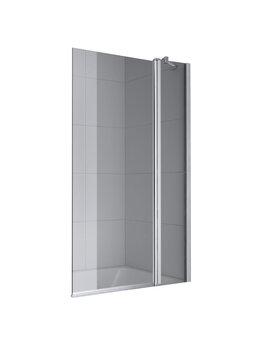 Шторы и карнизы - Шторка для ванны KERMI Cada XS R 90x140, 0