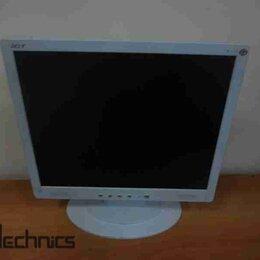 """Мониторы - Монитор с дефектом ЖК 17"""" 5:4 Acer AL1715 колонки , 0"""