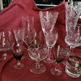 Бокалы и стаканы - Хрусталь: рюмки, фужеры, стаканы, 0