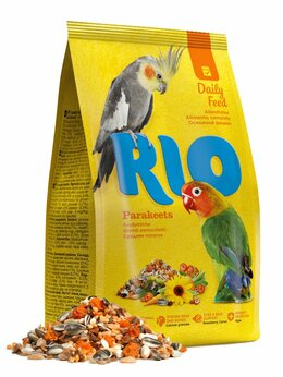 Корма - RIO Корм для средних попугаев. Основной рацион, 0