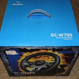Рули, джойстики, геймпады - Игровой руль SVEN GC-700W, 0