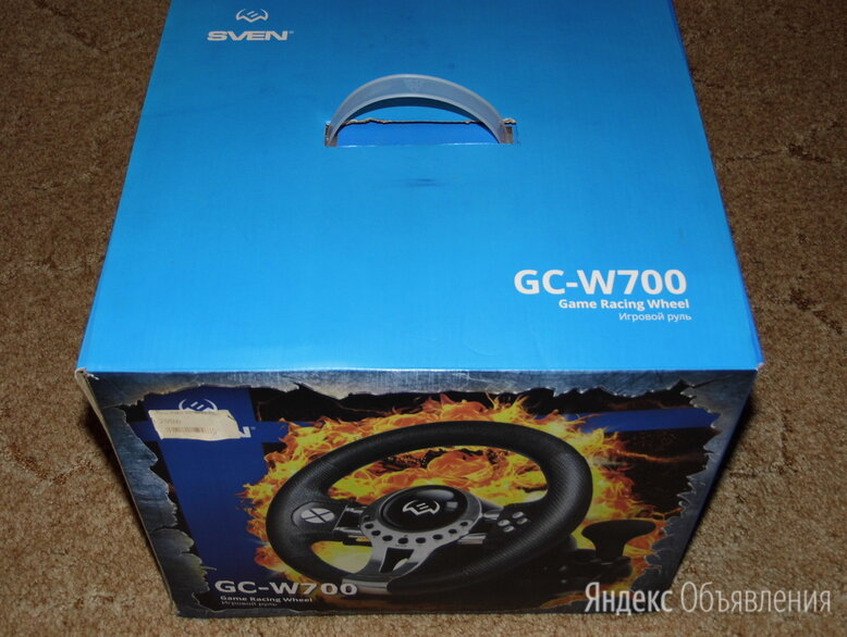 Игровой руль SVEN GC-700W по цене 3000₽ - Рули, джойстики, геймпады, фото 0