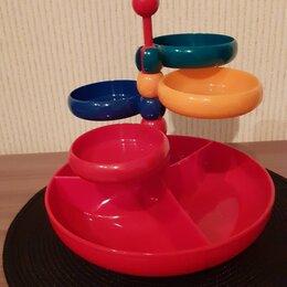 Блюда, салатники и соусники - Менажница- этажерка, 0