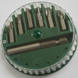 Для дрелей, шуруповертов и гайковертов - Набор бит Hitachi 25mm + магнитнитный держатель, 0