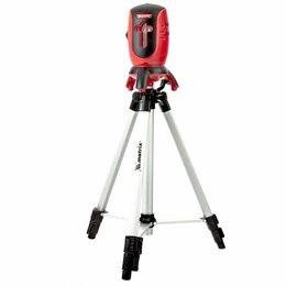 Измерительные инструменты и приборы - Лазерный уровень matrix 35063 со штативом, 0