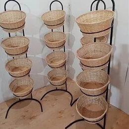 Витрины - Напольная стойка (4 корзины), 0