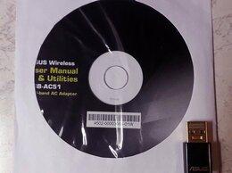 Оборудование Wi-Fi и Bluetooth - 2х диапазонный USB WiFi адаптер Asus -AC51 2.4…, 0