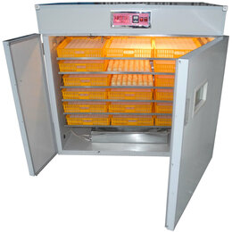Товары для сельскохозяйственных животных - Инкубатор + выводной шкаф MJB/N-2 на 1584 яйца, 0