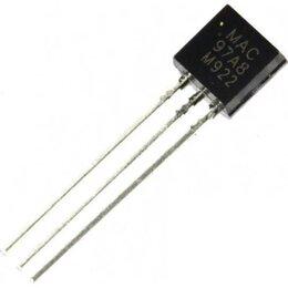 Моноблоки - MAC97A8,116, Симистор 0.6А 600В [ТО-92], 0