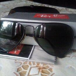 Очки и аксессуары - Оригинальные очки Ray-Ban Aviator солнцезащитные, 0