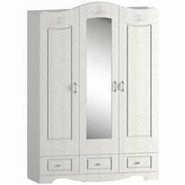 Кровати - Шкаф для одежды и белья трехстворчатый Купидон, 0