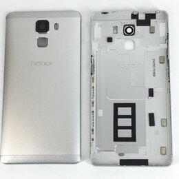Корпусные детали - Задняя крышка для Huawei Honor 7 белая, оригинал, 0