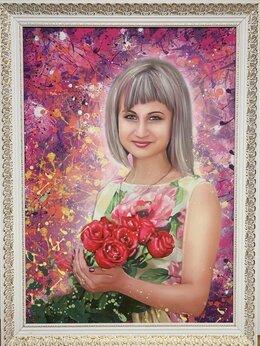 Картины, постеры, гобелены, панно - Портрет по фото на заказ, 0
