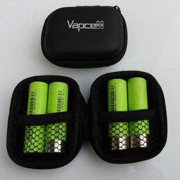 Батарейки - Vapce бокс для хранения 4 аккумуляторов 18650, 0