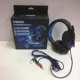 Наушники и Bluetooth-гарнитуры - Игровые наушники с микрофоном SOYTO SY830 MV., 0