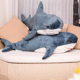 Мягкие игрушки - Акула из IKEA, 0