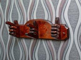 Вешалки настенные - Дизайнерская вешалка с жестами, 0