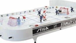 Настольные игры - STIGA Настольный хоккей Stanley Cup, 0