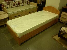 Кровати - Кровать  ЛДСП,  900х2000 мм. с матрасом, в наличии, 0