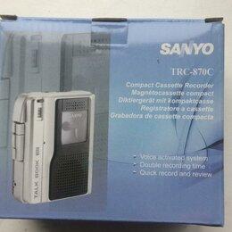 Диктофоны - Диктофон sanyo TRC-870 новый новый в упаковке, 0
