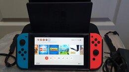 Игровые приставки - Nintendo Switch. 288 Gb. 55 игр. Лицензия. Обмен, 0