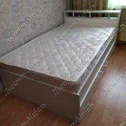 Кровати - Кровать с ящиками и матрасом, 0